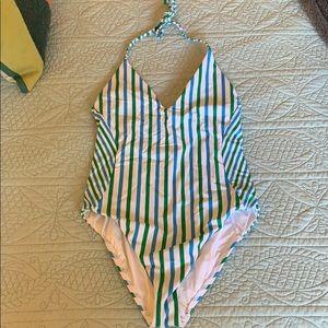 LOFT Halter Top Bathing Suit
